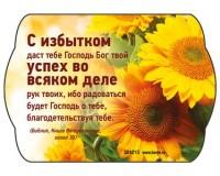 Магнит 7х10 С избытком даст тебе Господь, арт.304213