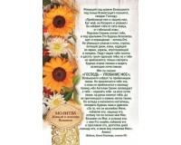 Открытка (1) 10х15 Молитва Живый в помощи Вышнего, арт.182105